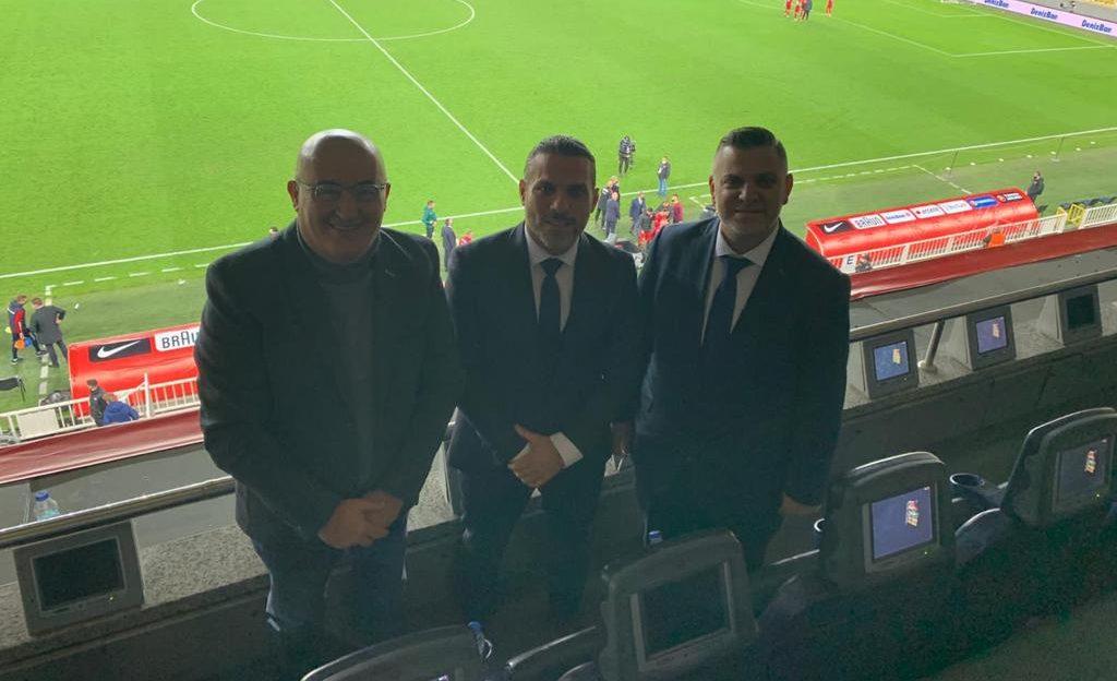 TTFF, özel davetle Türkiye Milli maçını izledi