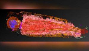 Antik Mısır mumyasını X ışınıyla tarayan bilim insanlarını şaşırtan keşif