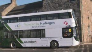 İskoçya'da dünyanın ilk hidrojenle çalışan otobüsleri kullanılacak