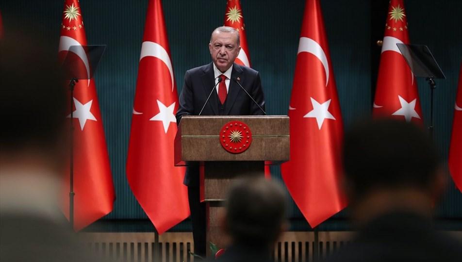TC Cumhurbaşkanı Erdoğan: Toplu alanlar saat 22.00'de kapanacak