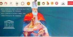 UNESCO, 2021 Takvim kapağını Hünkar Hacı Bektaş Veli'ye ayırdı