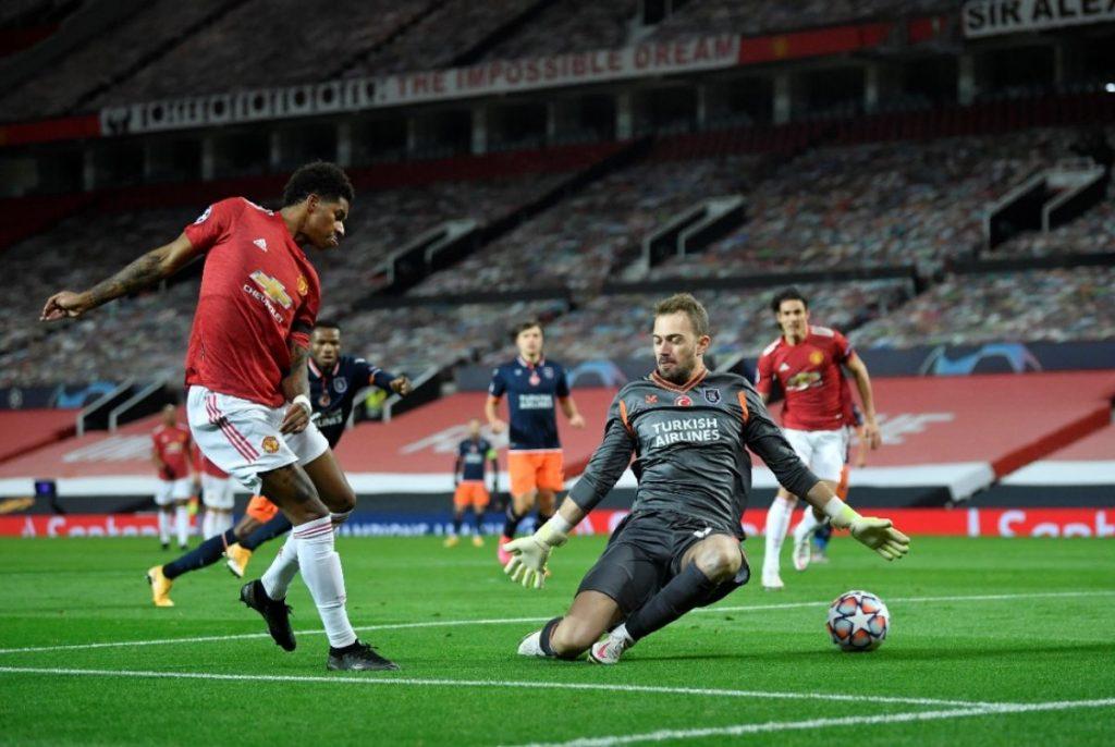 Başakşehir, Manchester United'a karşı mağlup oldu