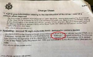 İngiltere'de bir kişinin adresine gelen 856 kilometrelik hız sınırı cezası şaşkına çevirdi