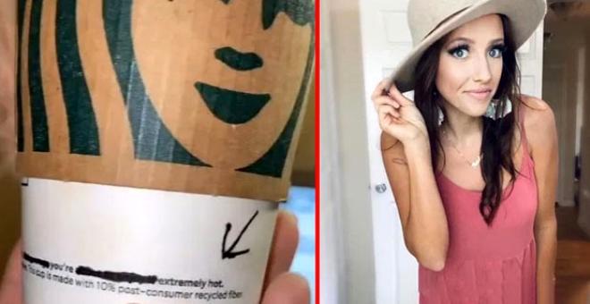Kahve siparişi veren kadın, bardağında yazan not karşısında şoka uğradı