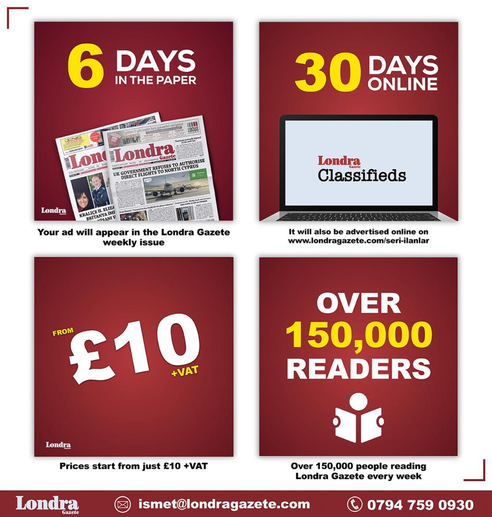 Advertise With Londra Gazete