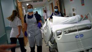 NHS'in dolup taşma tehdidi geriledi