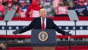 Trump: Biden'a seçimlerde usulsüzlük nedeniyle dava açacağız