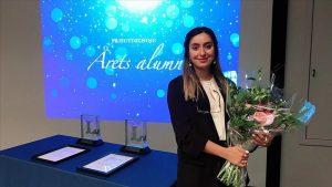 İsveç'te 'Yılın Onur Ödülü'nü Türk kızı kazandı