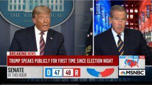ABD medyası Trump'ı 'Yalan söylüyor' diye yayından aldı