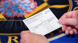 ABD Savunma Bakanlığı aşı kartını ilk kez paylaştı