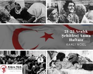 KTGAB, 21 Aralık Şehitler Haftası dolayısıyla mesaj yayımladı