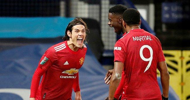 Manchester United yarı finale yükseldi