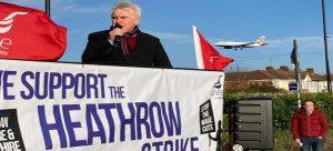 Heathrow havalimanında ikinci grev