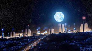 Ay'da inşa edilecek evlerin görüntüleri paylaşıldı! Verilecek isim bile hazır