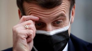 Fransa Cumhurbaşkanı Macron'un koronavirüs testi pozitif çıktı