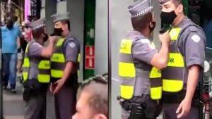 Gözü dönen polis, yemekten geç dönen meslektaşına silah çekti