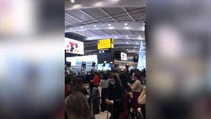Heathrow Havalimanı'nda mutasyon kuyruğu