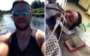 Covid-19 oldu, komadan çıkınca İskoç aksanıyla konuşmaya başladı