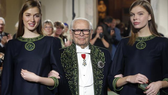 Moda dünyasında çığır açan Fransız tasarımcı Pierre Cardin 98 yaşında hayatını kaybetti