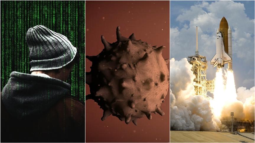 2040'a kadar en büyük risk 'biyolojik tehlike' 'siber tehditler' ve 'uzay çatışması' olarak görülüyor