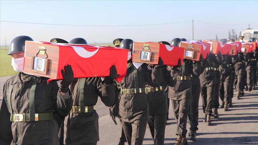 14 ακόμη μάρτυρες θάφτηκαν στο Muratağa Sandallar Martyrdom στην ΤΔΒΚ
