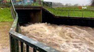 İngiltere'de Christoph Fırtınası alarmı