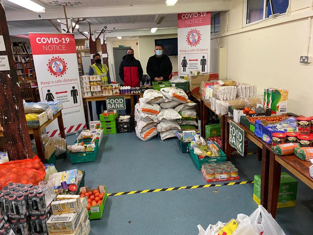 TTFF Club Union donates toward BAF's food aid campaign