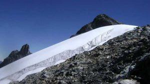 Venezuela'daki son buzul küresel ısınma nedeniyle eriyor