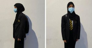 İngiltere'de Müslüman kız öğrenciye skandal baskı