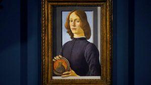 Botticelli'ye ait tablo 2021'in müzayede rekorunu kırdı