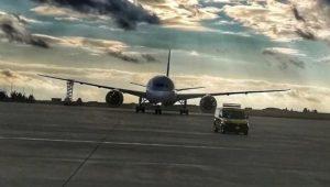 İngiltere-Katar seferi yapan uçak zorunlu iniş yaptı
