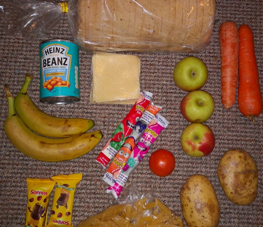 Questions raised over the standard of free school meals food parcels