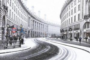 Londra yine kar altında kalacak