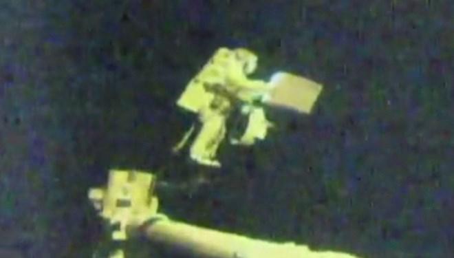 NASA'dan 2021 yılının ilk uzay yürüyüşü