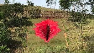 Brezilya'da aşırı sağı kızdıran sıradışı heykel