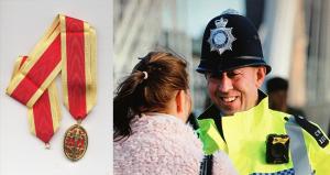 Kıbrıslı Türk Ceyhun Uzun'a Birleşik Krallık'tan onur madalyası