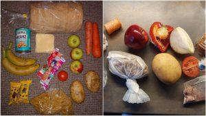 """İngiltere'de düşük gelirli ailelere gönderilen """"ücretsiz okul yemeği""""nin içeriği tepki çekti"""
