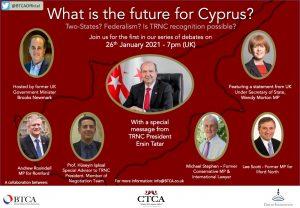 Kıbrıs'ın geleceği, BTCA ve Konsey'in online seminerinde tartışıldı