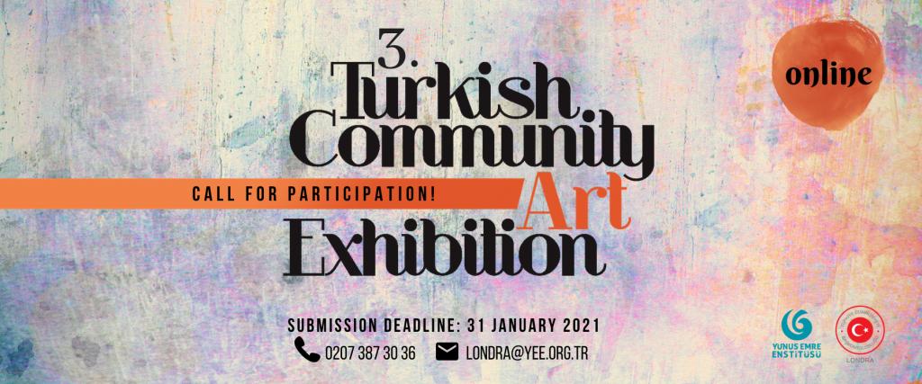 3.Türk Toplumu Sanat Sergisi çevrimiçi gerçekleşecek
