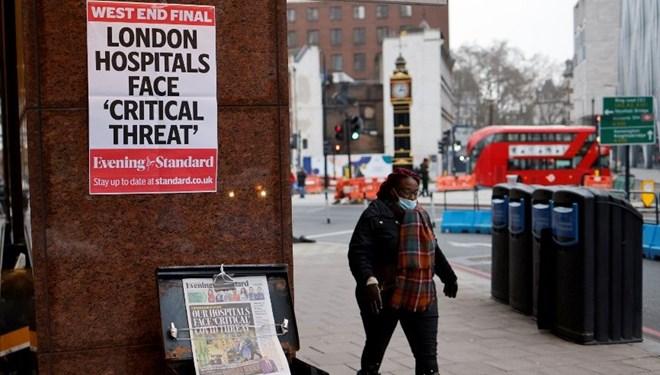 'Londra'da İki hafta içinde hastanelerde yer kalmayacak'