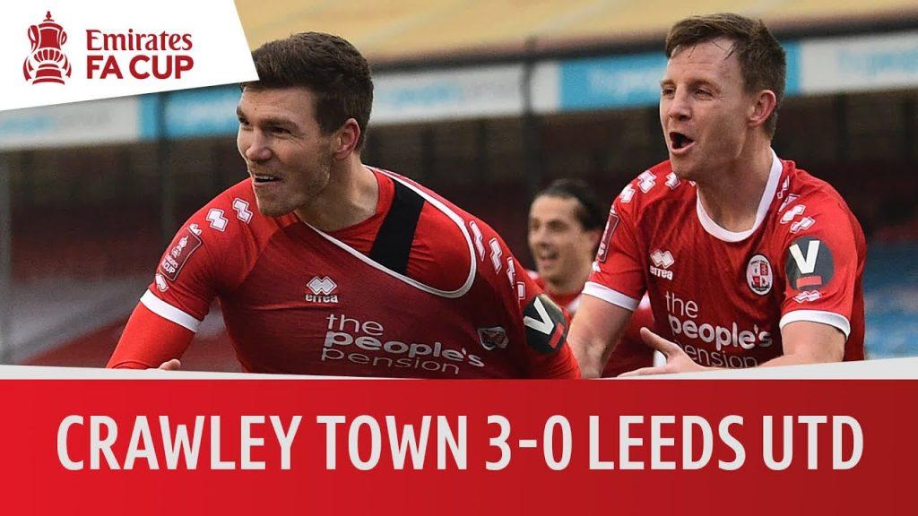 Türk takımı Crawley Town Leeds United'i eledi