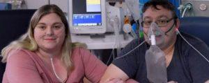 İngiltere'de koronavirüse yakalanan çift, durumları kötüleşince yoğun bakımda evlendi