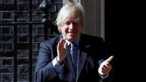 """Boris Johnson: """"15 milyon kişinin aşılanmış olması 'olağanüstü' bir başarı"""""""