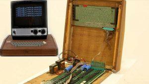 Apple'ın ilk bilgisayarı için rekor fiyat