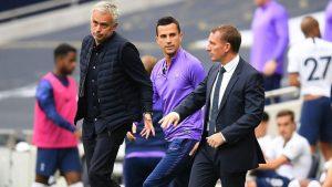 Tottenham'da Jose Mourinho'nun yerine Brendan Rodgers iddiası