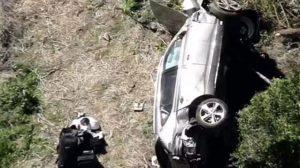 Trafik kazası geçiren golfün efsanesi Tiger Woods hastaneye kaldırıldı