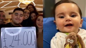 SMA hastası Roza bebek için Londra'dan destek