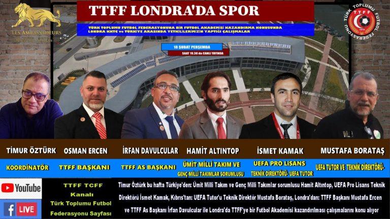TTFF'nin futbol akademisi kurma çalışmaları hız kazandı