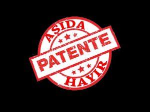 DAY MER: patent insanlık suçudur, kaldırılsın!
