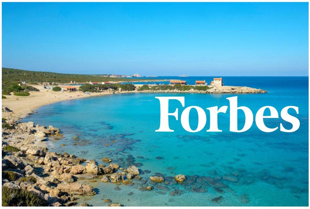 FORBES, Kuzey Kıbrıs'ı 2021'de sahil kıyısında en iyi fırsat sunan ülke olarak gösterdi